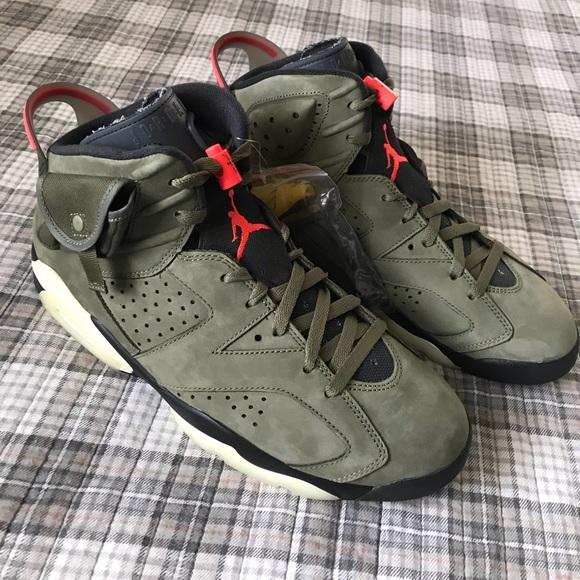 Air Jordan Retro 6 Cactus Jack | Poshmark